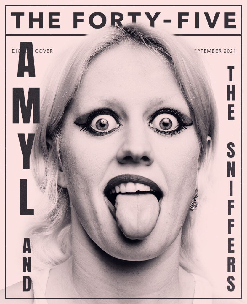 Amyl & The Sniffers magazine cover