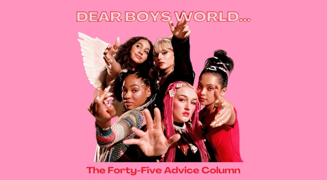 Boys World advice column