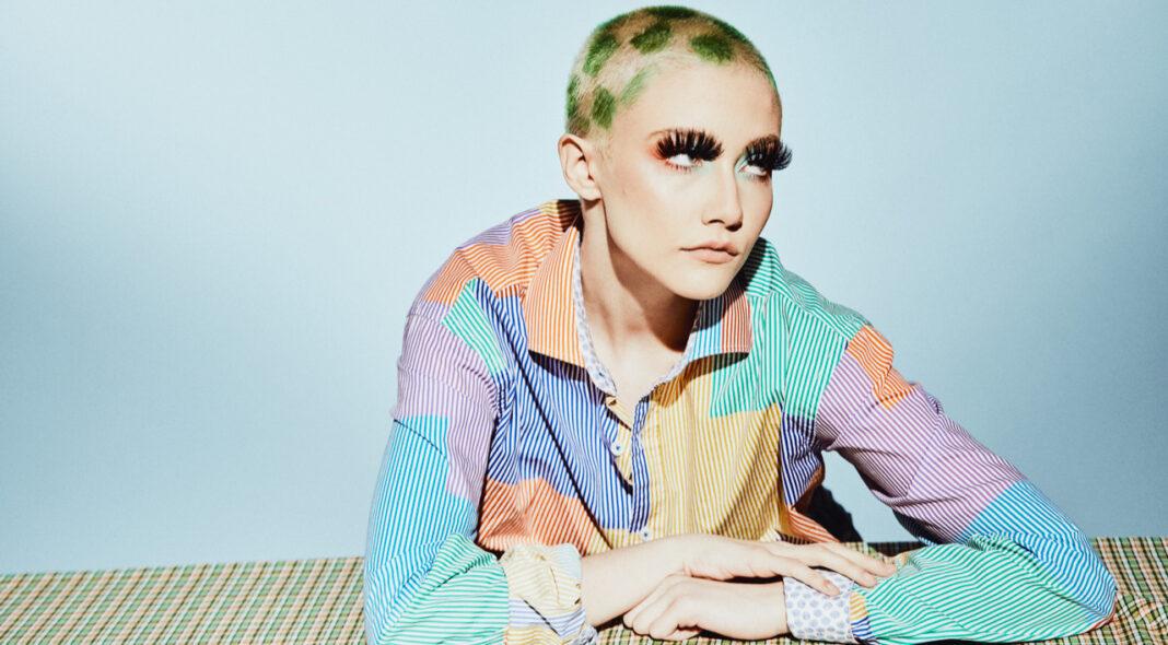 Chloe Moriondo shaved head