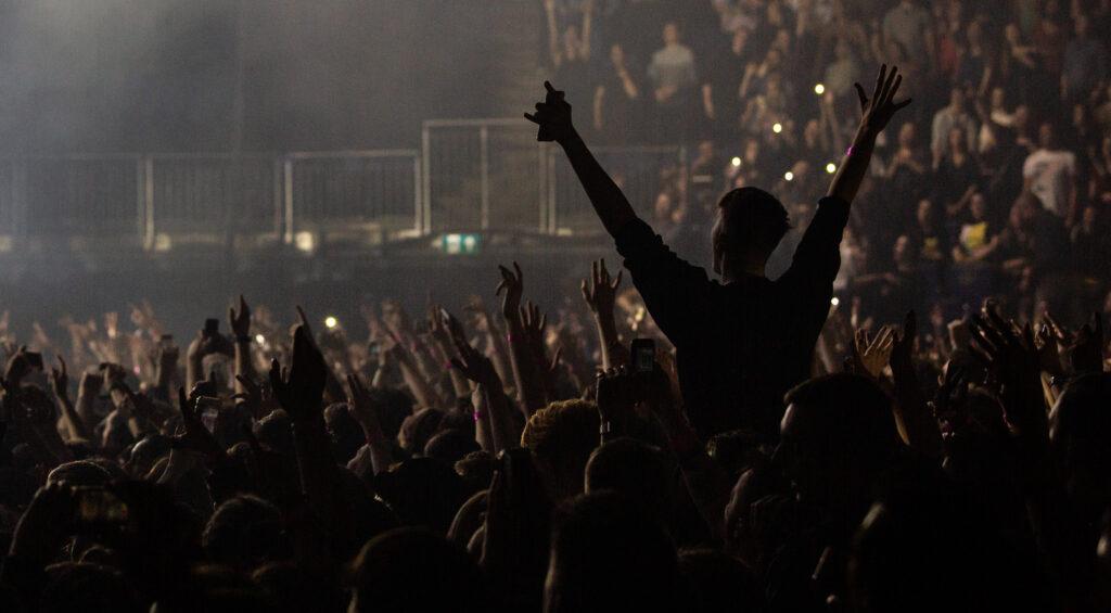 Crowd shot