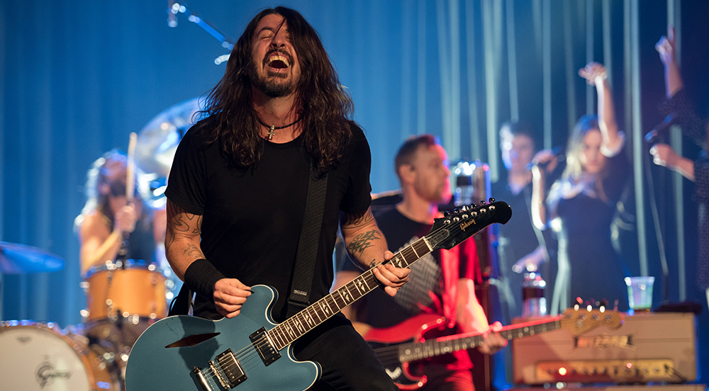 Foo Fighters live at Roxy