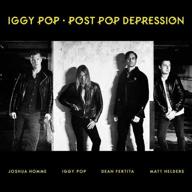 Iggy Pop Post Pop Depression album cover
