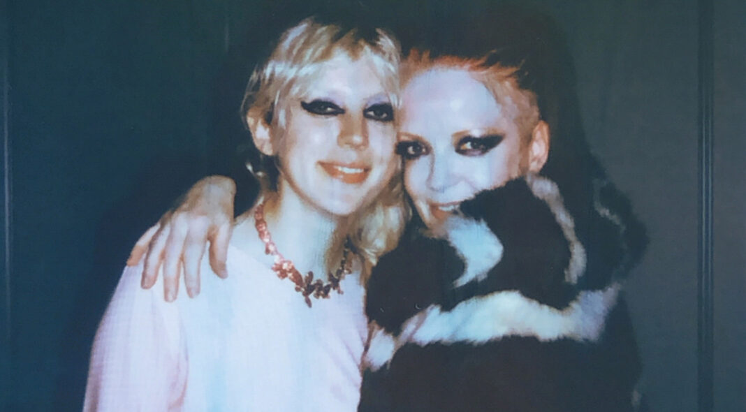 Shirley Manson and Izzy Bee Phillips