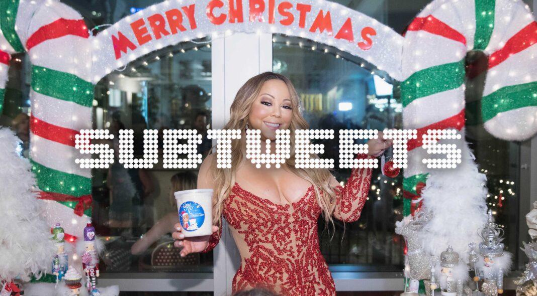 Mariah Carey save Christmas
